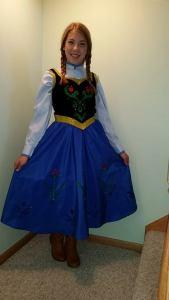 An interpretation of the famous Anna dress.
