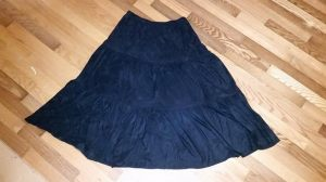 Skirt-to-Cape Upcycle