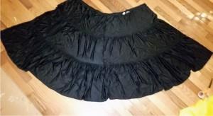 opened skirt