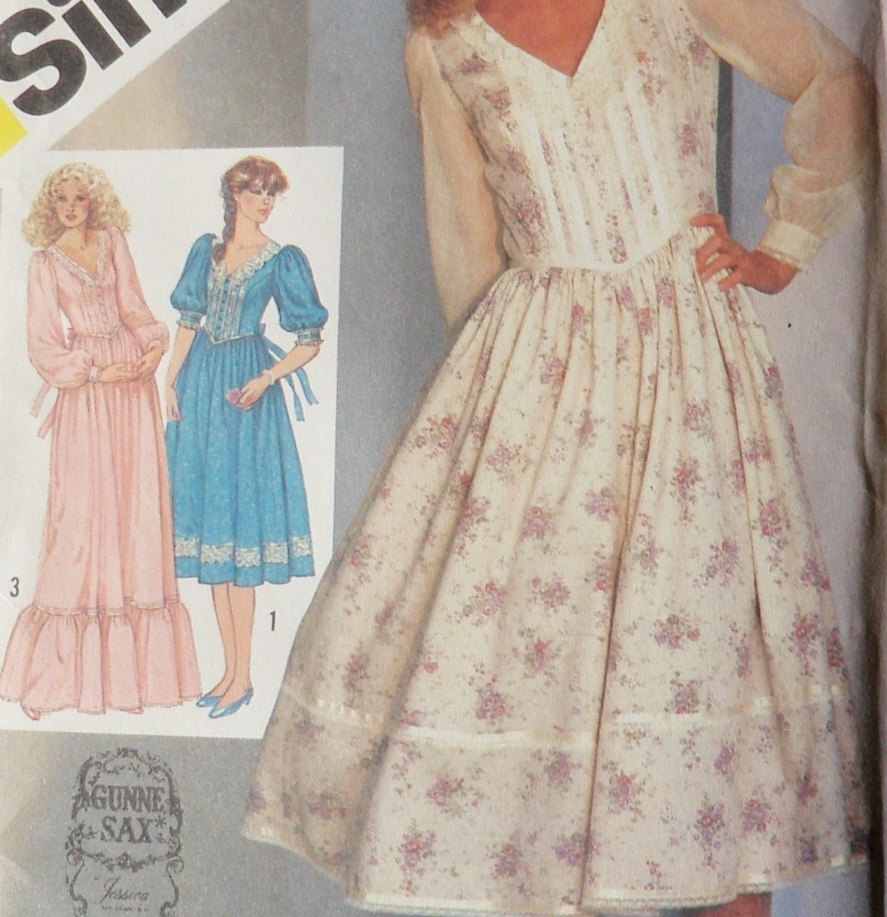 "Concept Costume: Upcycle possibilities inspired by ""Gunne Sax ..."