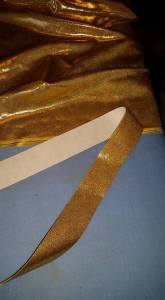 Fabric and prepared strip.