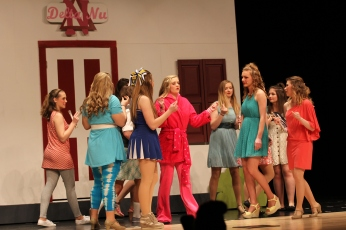 legally blonde thursday rehearsal 106