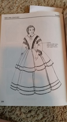From: Patterns for Theatrical Costumes: Garments, Trims, and Accessories from Ancient Egypt to 1915 (Holkeboer, Katherine Strand)