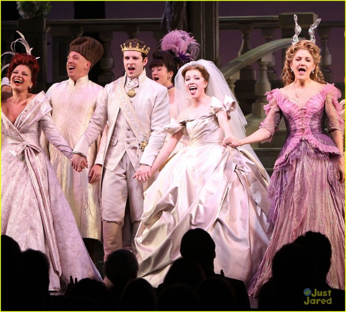 "Curtain Call for ""CINDERELLA"" on Broadway Starring Carly Rae Jepsen and Fran Drescher"