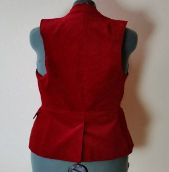 back view--first alteration
