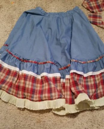 modified circle skirt