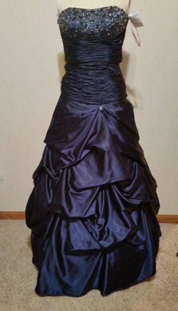 blue dress #1