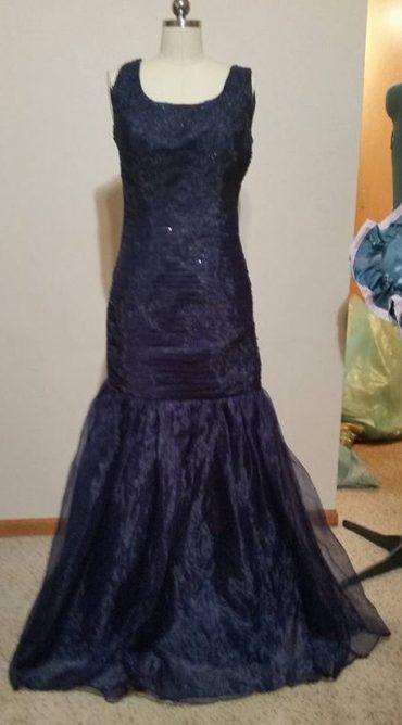 blue dress #2 front