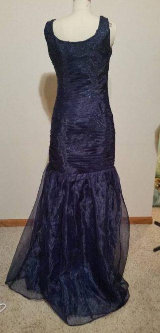 back of Blue Dress #2