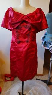 2nd dress (with applique on the front)