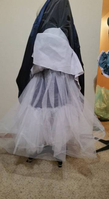 lots of petticoat net
