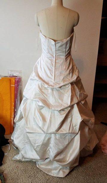 back of tea dress