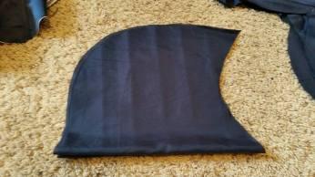 free hand cut lower sleeve