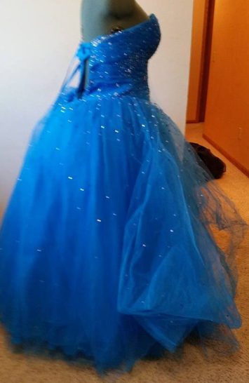 original dress side view