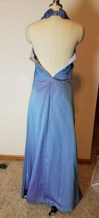 dress #3 back