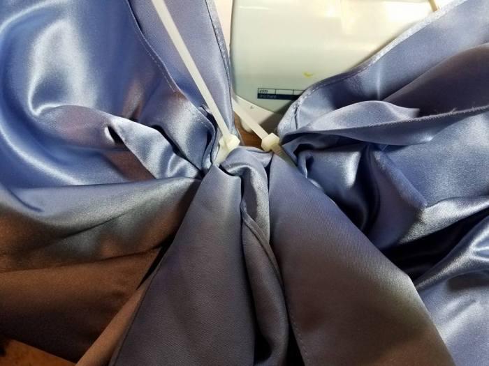 zip tie bow