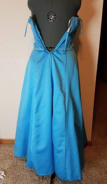 dress #1 back
