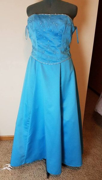 dress #1 front
