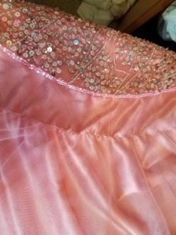 folding line for skirt