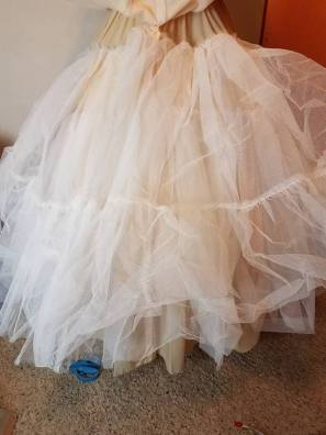 huge built in petticoat