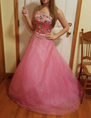 candyland dress :)