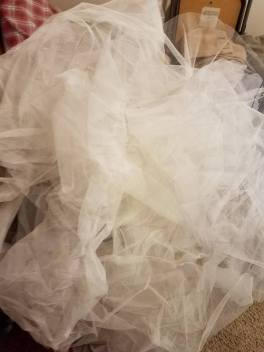 massive quantity of petticoat net
