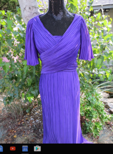 purple richiline new york dress from etsy