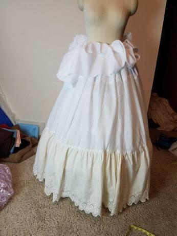 making the petticoat