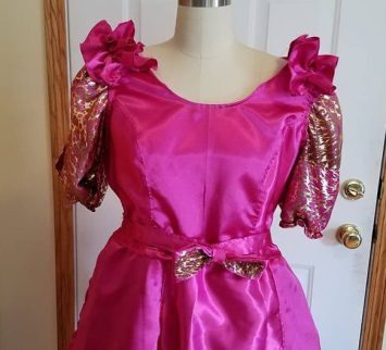 top of pink dress, Cinderella