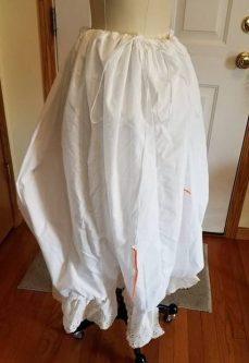petticoat pouch, Cinderella