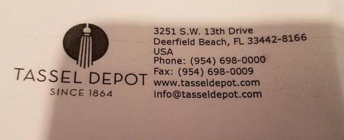 tassel depot information
