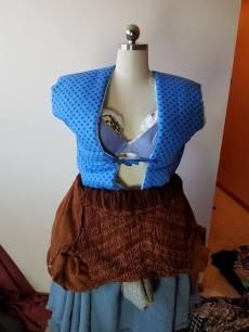 Front of vest, Marie in Cinderella