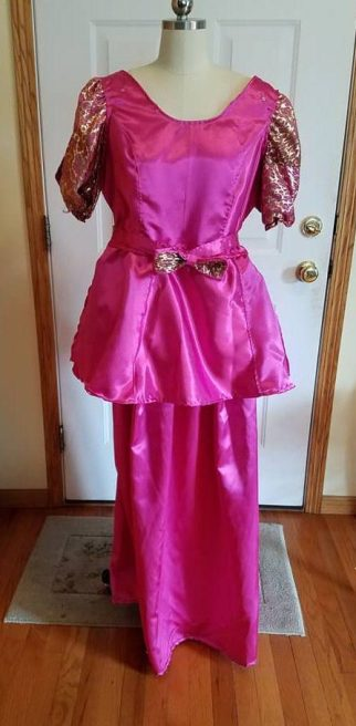 Gabrielles matching dress, Cinderella