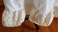 middle of petticoat pouch, Cinderella