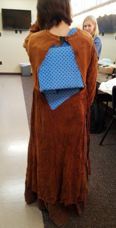 back dress, Marie in Cinderella