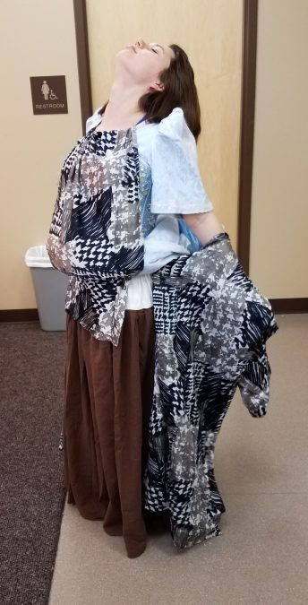 transforming costume, Marie in Cinderella