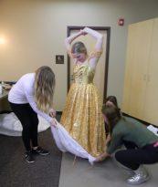 bring up petticoat pouch, Cinderella