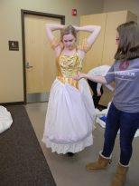 skirts enclosed, Cinderella