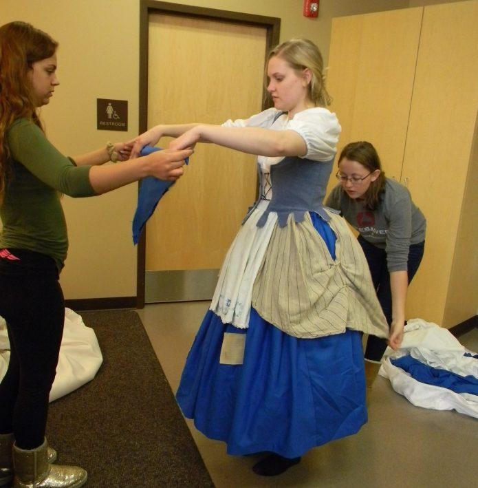 finishing touches, Cinderella