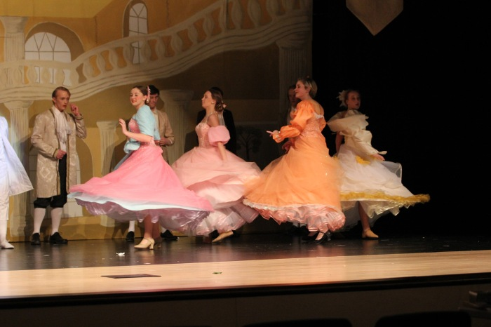 twirling skirts