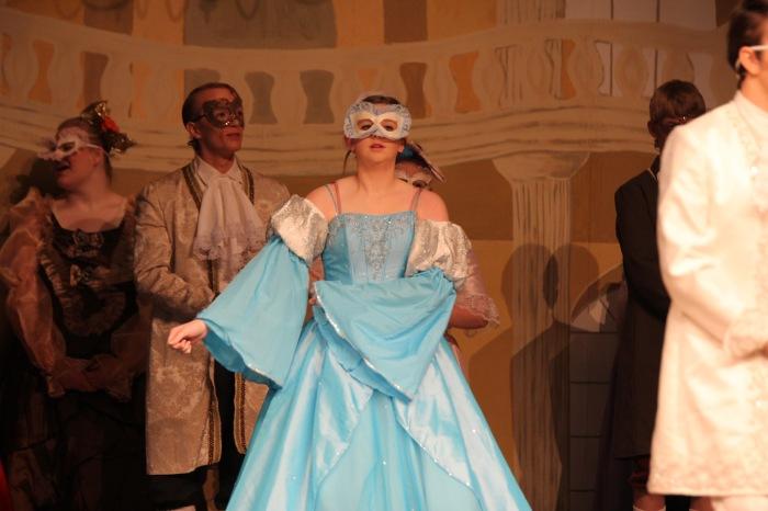 dress on stage