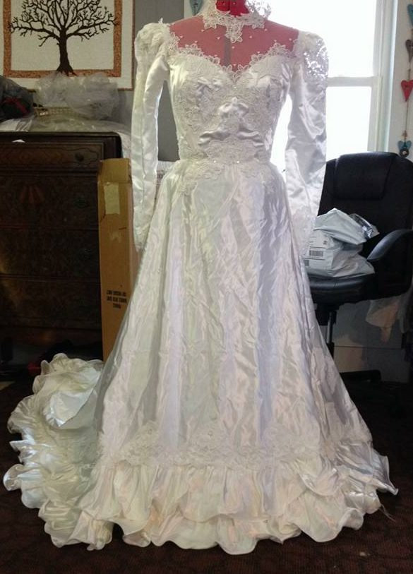 wedding dress out of the box, Cinderella