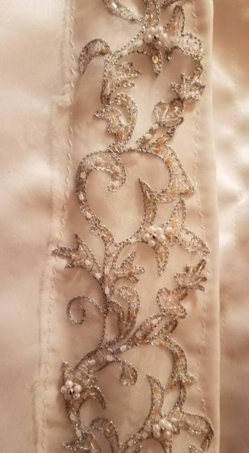 detail of jacket trim