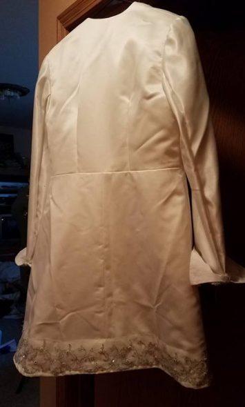 back of ball jacket