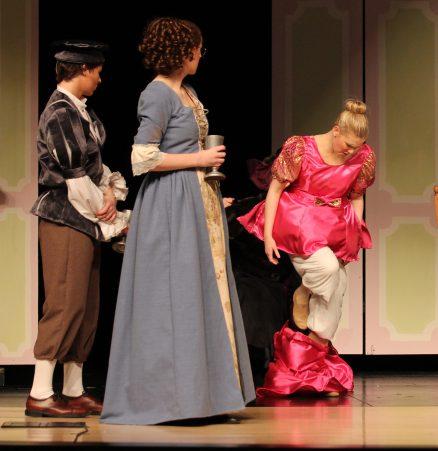 dress destroyed by Madame, Cinderella