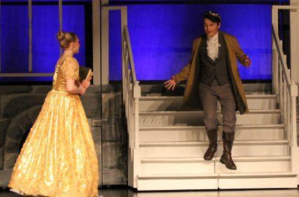 petticoat added for Banquet scene, Cinderella