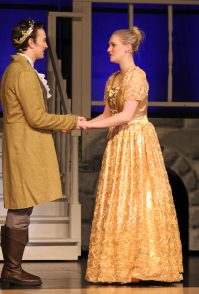 gold dress, Cinderella