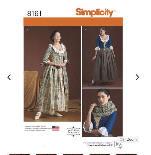 simplicity 8161