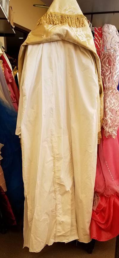 under tunic--religious figure
