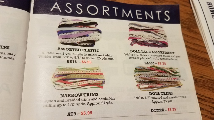 catalog page from Home Sew